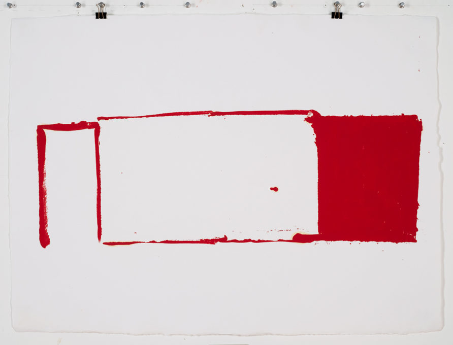 Red Drawing (Site) 04, 2015