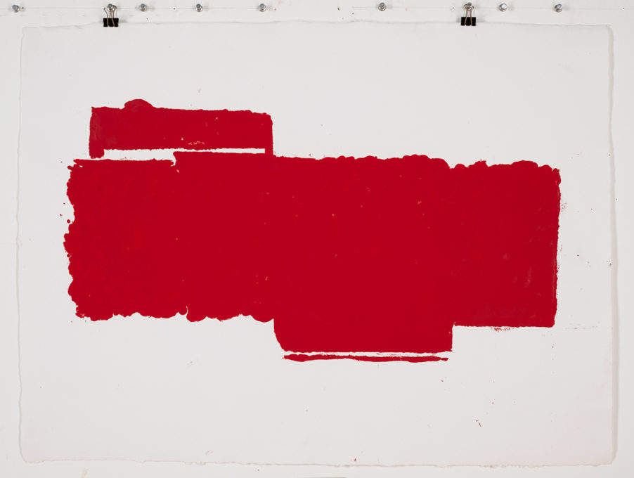 Red Drawing (Site) 02, 2015