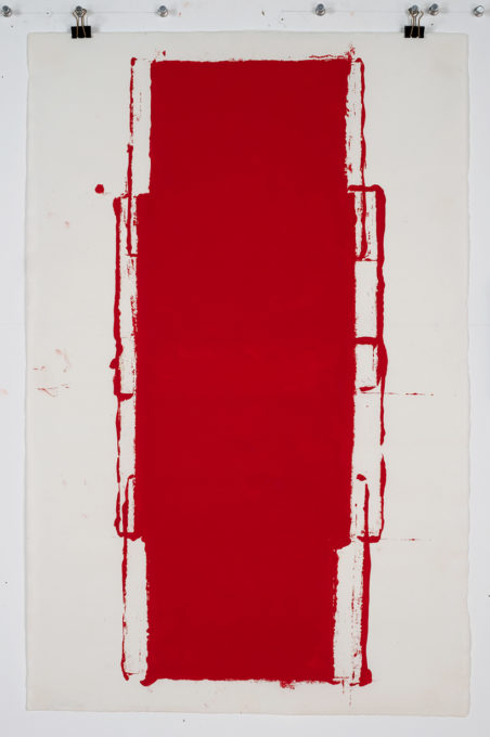 Red Drawing (Site) 08, 2015