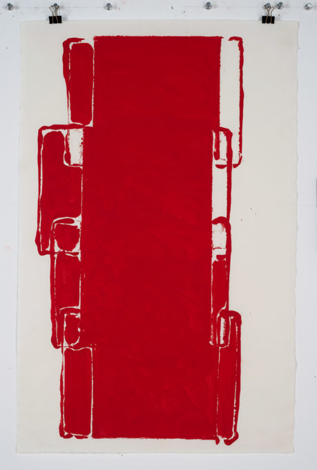 Red Drawing (Site) 09, 2015