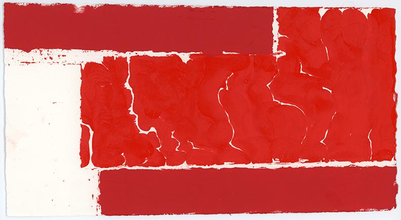 Red Drawing 06, 2017. Artist copyright © Susanna Heron.
