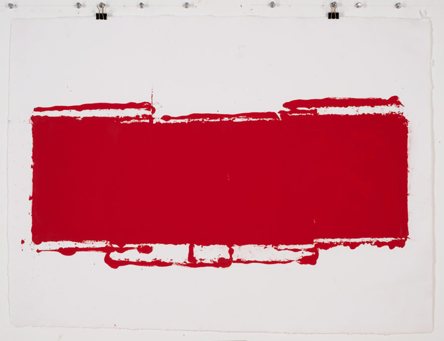 Red Drawing (Site) 03, 2015