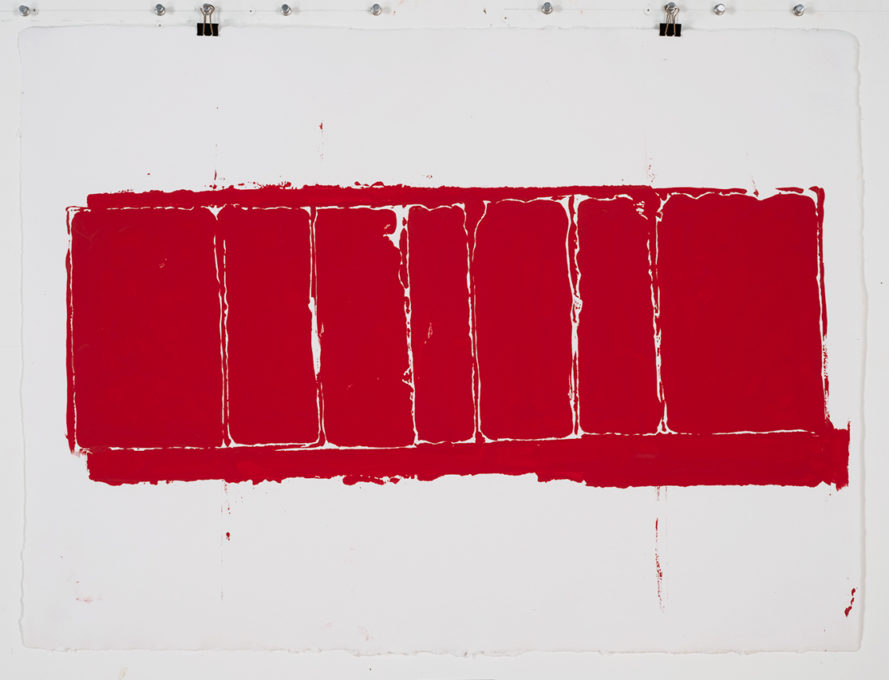 Red Drawing (Site) 05, 2015