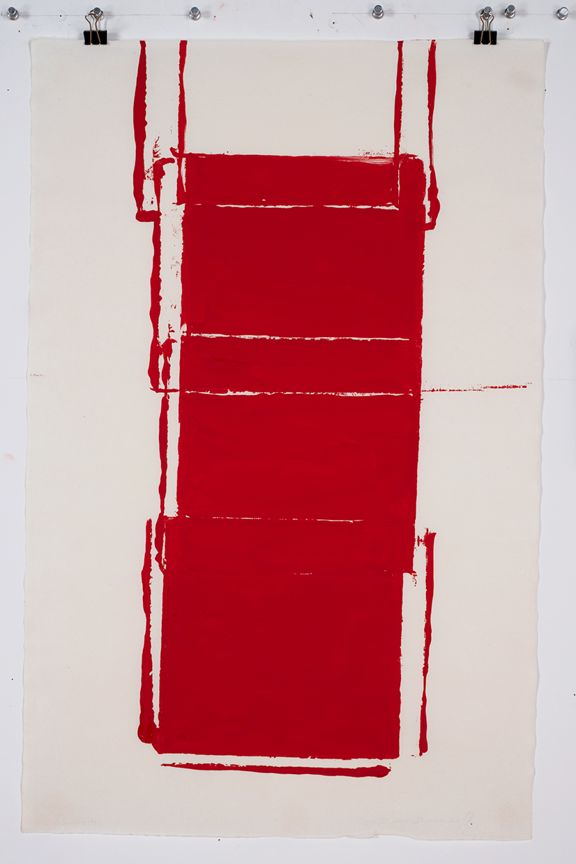 Red Drawing (Site) 07, 2015