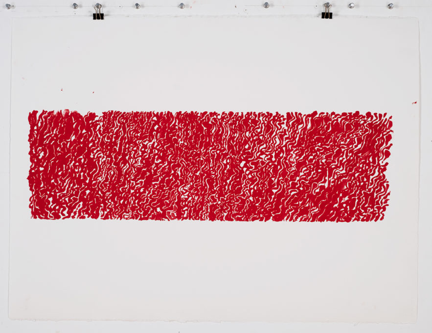 Red Drawing (St John's) 02, 2015