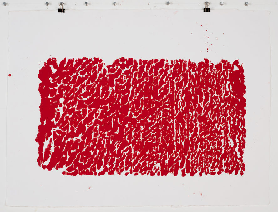 Red Drawing (St John's) 03, 2015