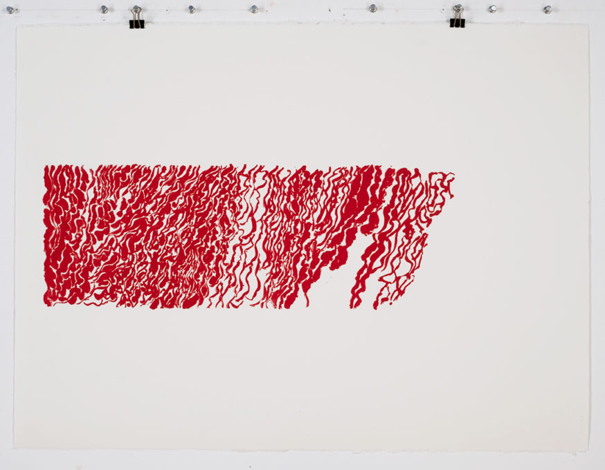 Red Drawing (St John's) 06, 2015