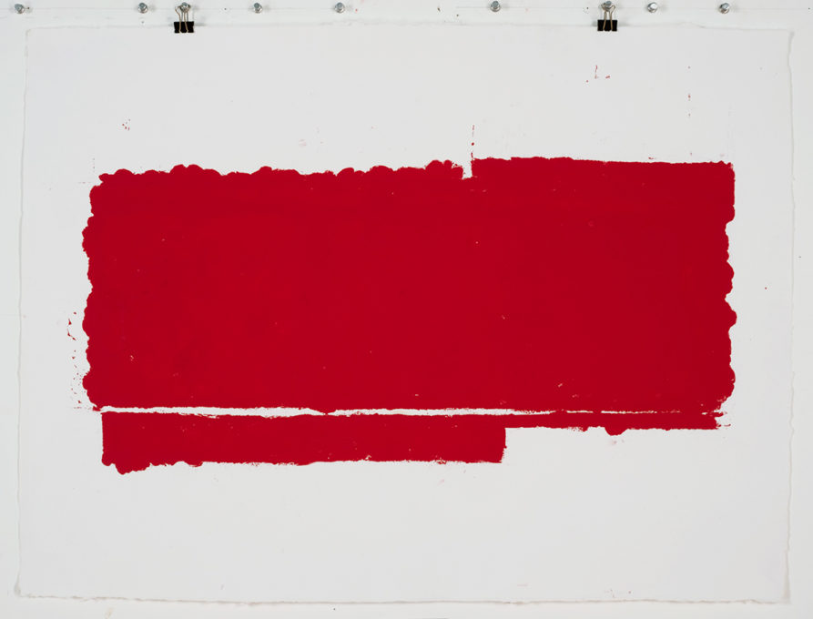 Red Drawing (Site) 01, 2015