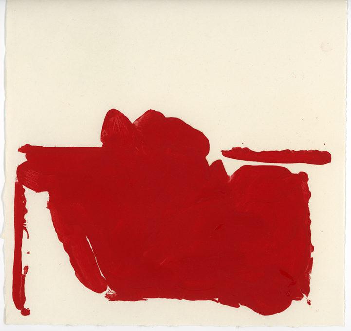 Red Drawing 10, 2015. Artist copyright © Susanna Heron.