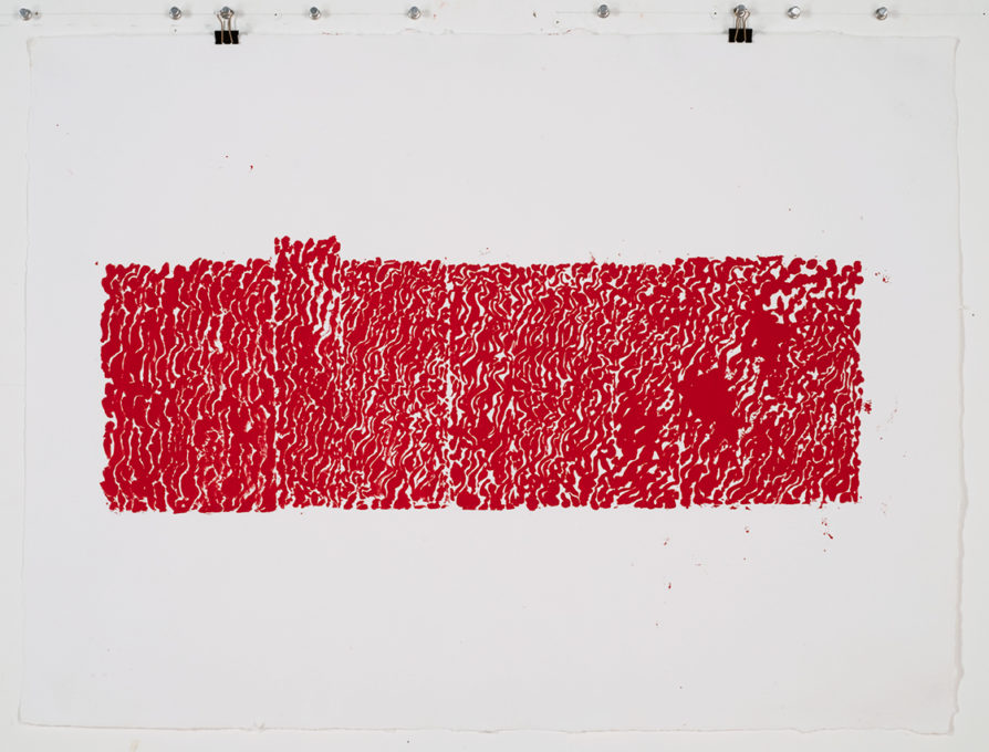 Red Drawing (St John's) 01, 2015